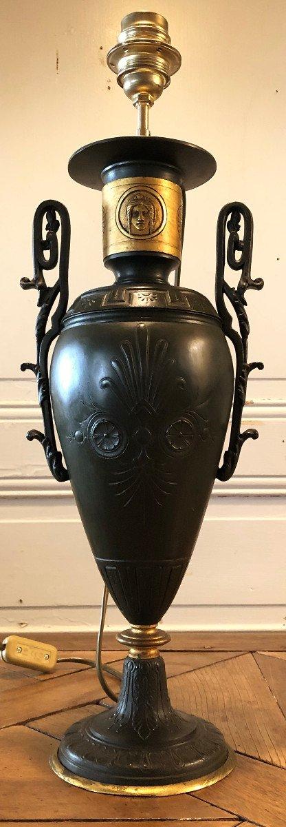 Grand Vase Cassolette Lampe Néoclassique XIX° Siècle