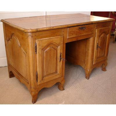 Regency Office Box In Solid Cherry, XVIII Century