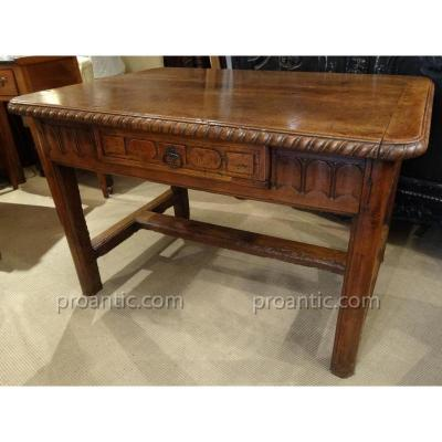 Table Louis XIV In Cherry Period XVIIIth Century