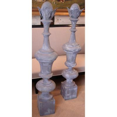 Pair From Grand Ridge Ears, Garden Decor