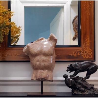 Jacques Le Bescond (1945), Buste Antique En Marbre