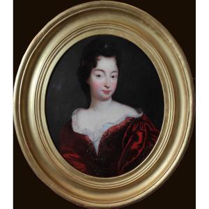 Ecole Française Vers 1700, Entourage De François De Troy, Portrait De Femme