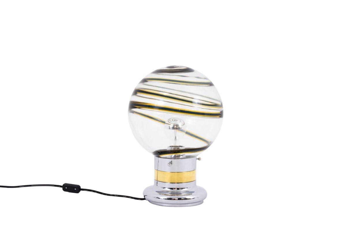 Toni Zuccheri, Lampe En Verre De Murano, Années 1970 - LS4084461