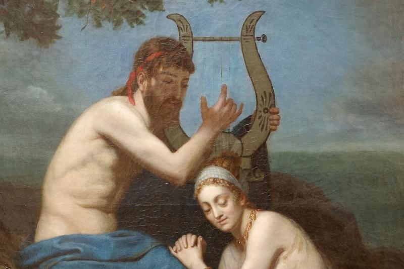 A.m. Roucoule, Painting, Orpheus And Eurydice, 1877 - Ls32182501-photo-3