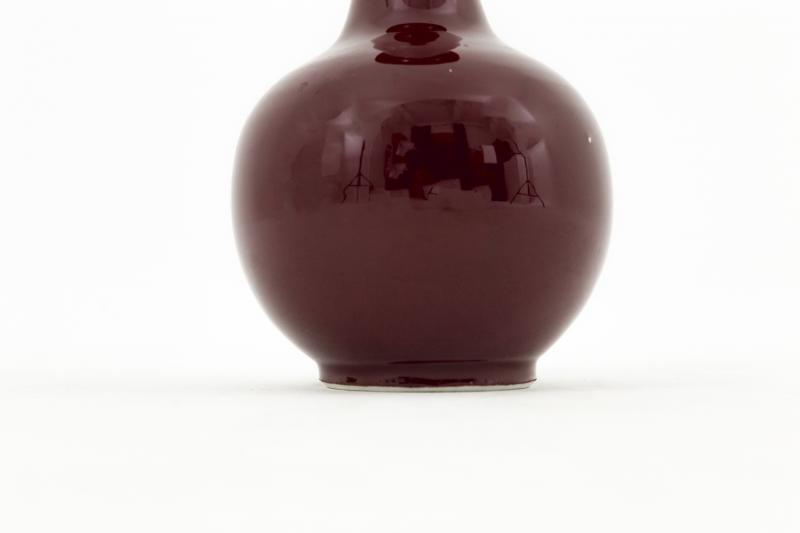 Paire De Vases En Porcelaine Rouge Sang-de-bœuf, Années 1950 - LS3822131-photo-4