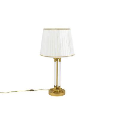 Lamp In Lucite And Gilt Bronze, 1940's - Ls1936731