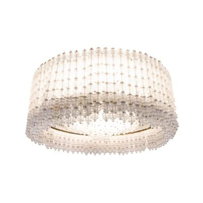Seguso, Large Chandelier In Murano Glass, 1950's - Ls41279701