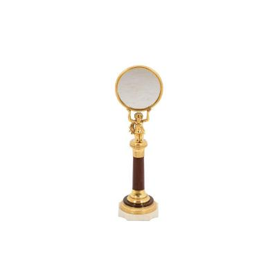 Little Mirror In Rosewood And Gilt Bronze, Empire Period  - Op450301