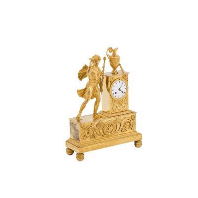Horloge En Bronze Doré, époque Empire - Ls4385901