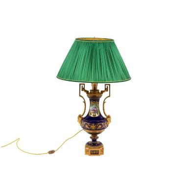 Lamp In Sevres Porcelain, Circa 1880 - Ls4375706