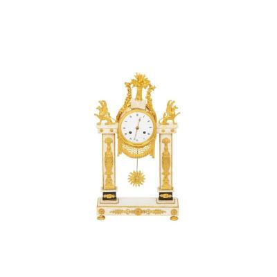 Pendule Portique, époque Directoire - Op484601