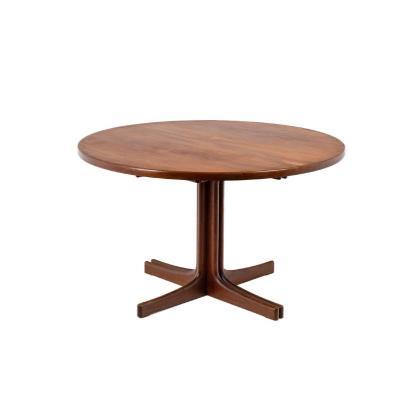 Scandinavian Dining Table In Teak, 1970s 1970s, Ls4568351
