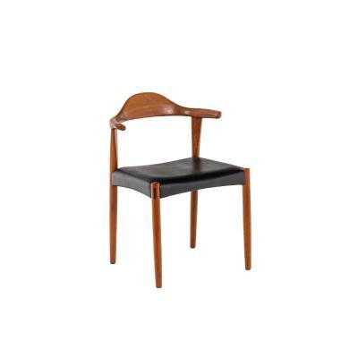 "Harry Østergaard, Series Of Four ""bull Horn"" Teak Chairs, 1950's, Ls4573601"