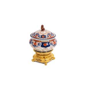 Brûle Parfum En Porcelaine D'imari, Circa 1880, Ls4590221