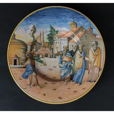 "Urbino. Plat ""a Istoriato"""