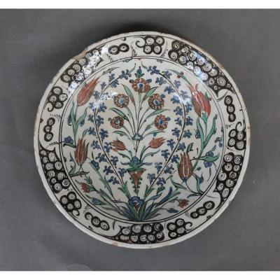 Iznik Dish Beginning Of The 17th Century