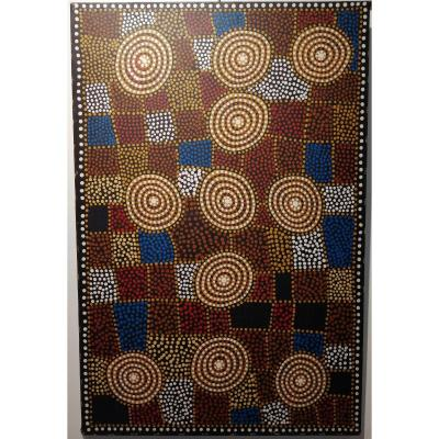 Art Aborigène Kudditji Kngwarreye