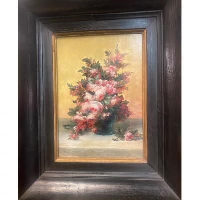 Bouquet Of Flowers Painting: 1878