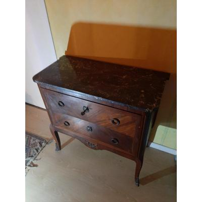 Commode Style Transition  Louis XV Louis XVI