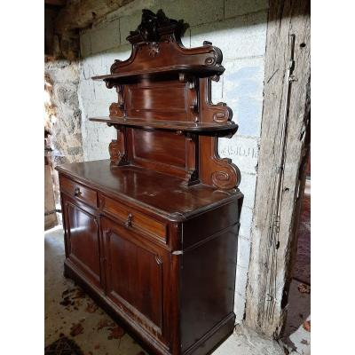 Buffet Saint Hubert In Mahogany D Period N III