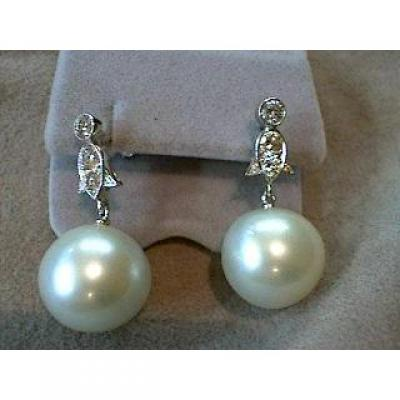 Dormeuses Perles