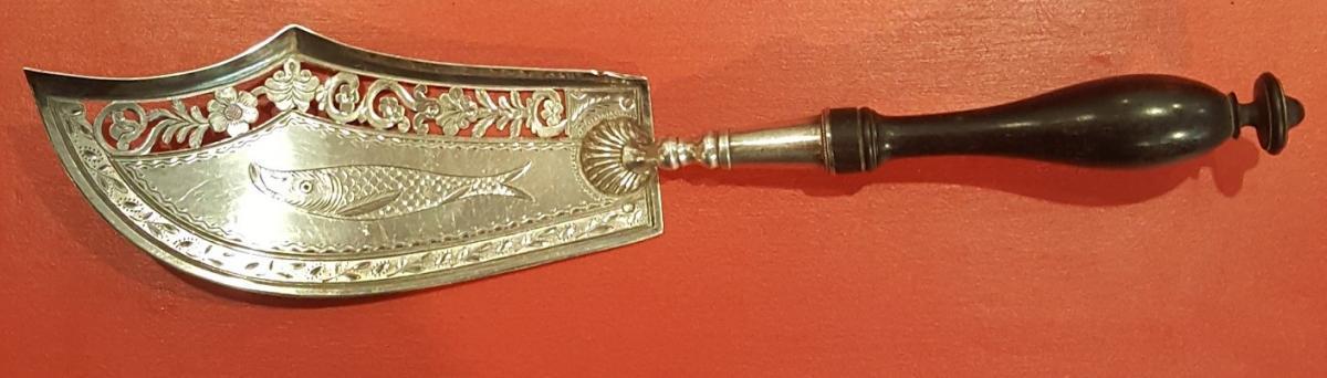 Old Silver Fish Shovel