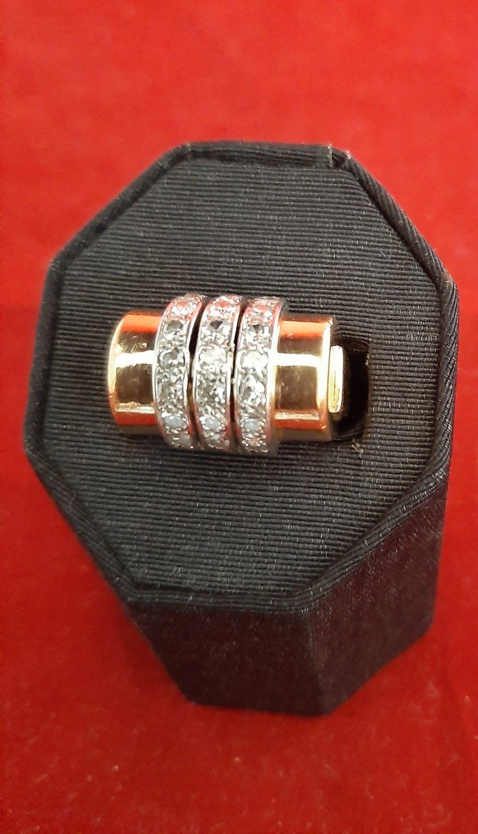 Gold And Diamond Ring-photo-3