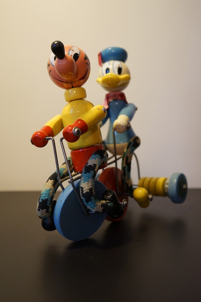 Donald Et Mickey En Tricycle-photo-2