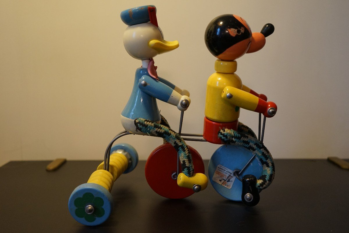 Donald Et Mickey En Tricycle-photo-3