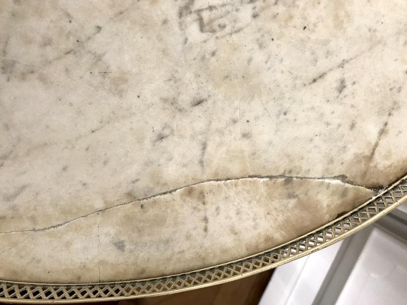 Table Bouillotte Louis XVI En Acajou-photo-8