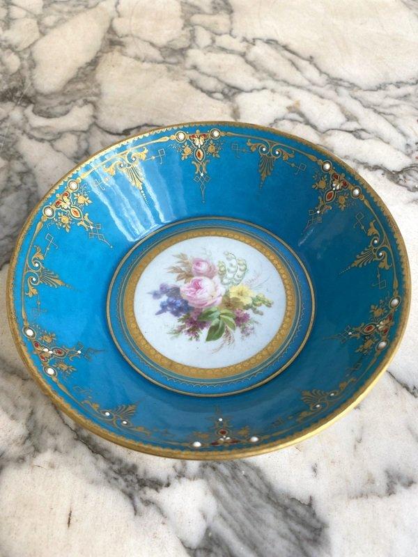 Enameled Sèvres Porcelain Cup-photo-2