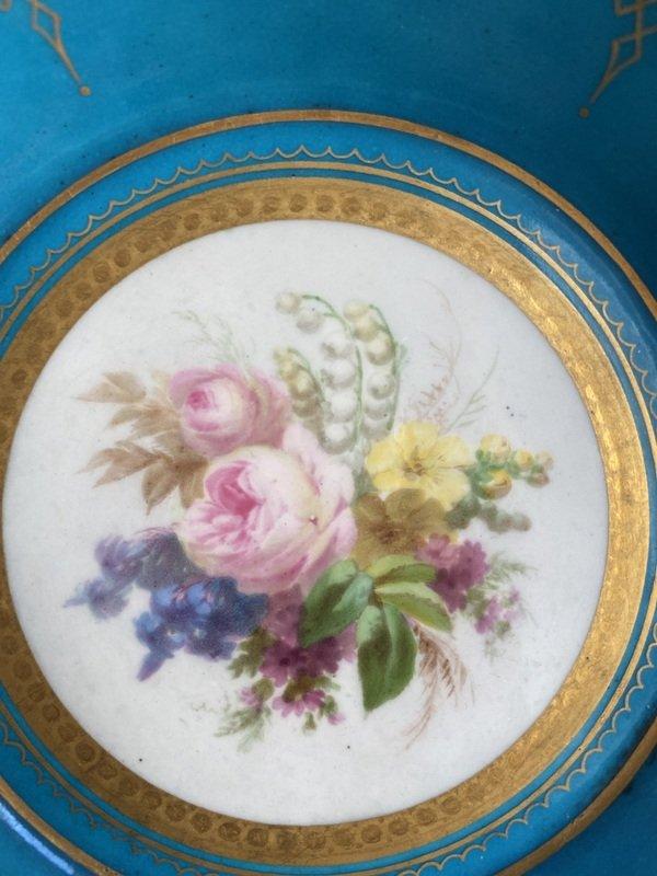 Enameled Sèvres Porcelain Cup-photo-4