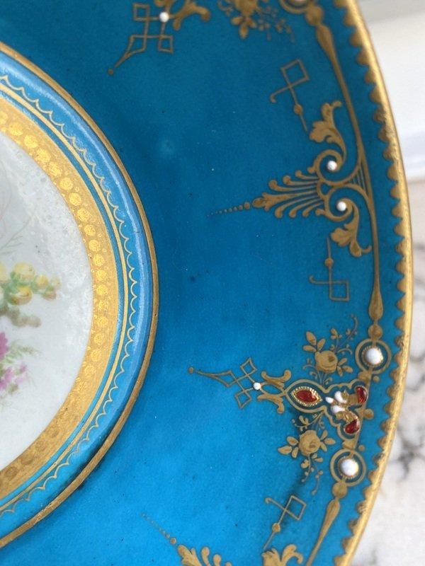 Enameled Sèvres Porcelain Cup-photo-1