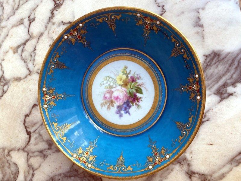 Enameled Sèvres Porcelain Cup