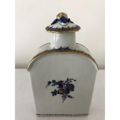 Flacon Porcelaine Compagnie Des Indes