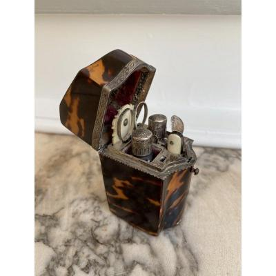 In Tortoiseshell And Silver From The XVIIIth Century