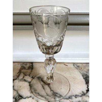 18th Century Leg Glass