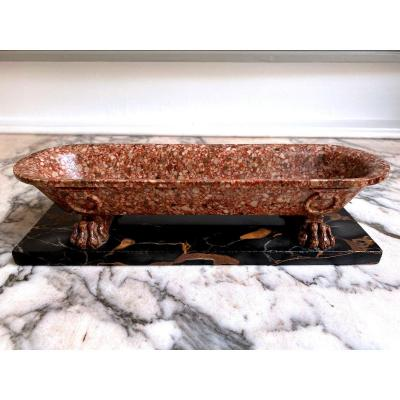 Marble Bath Object Of The Grand Tour