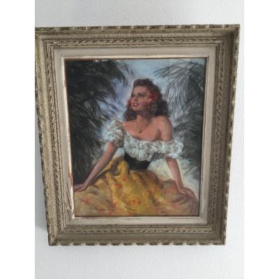 Pastel  Femme  S. Robin