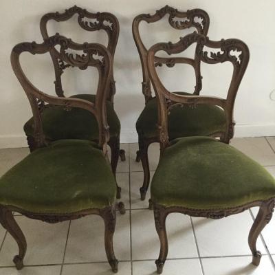 Chaises Rocailles