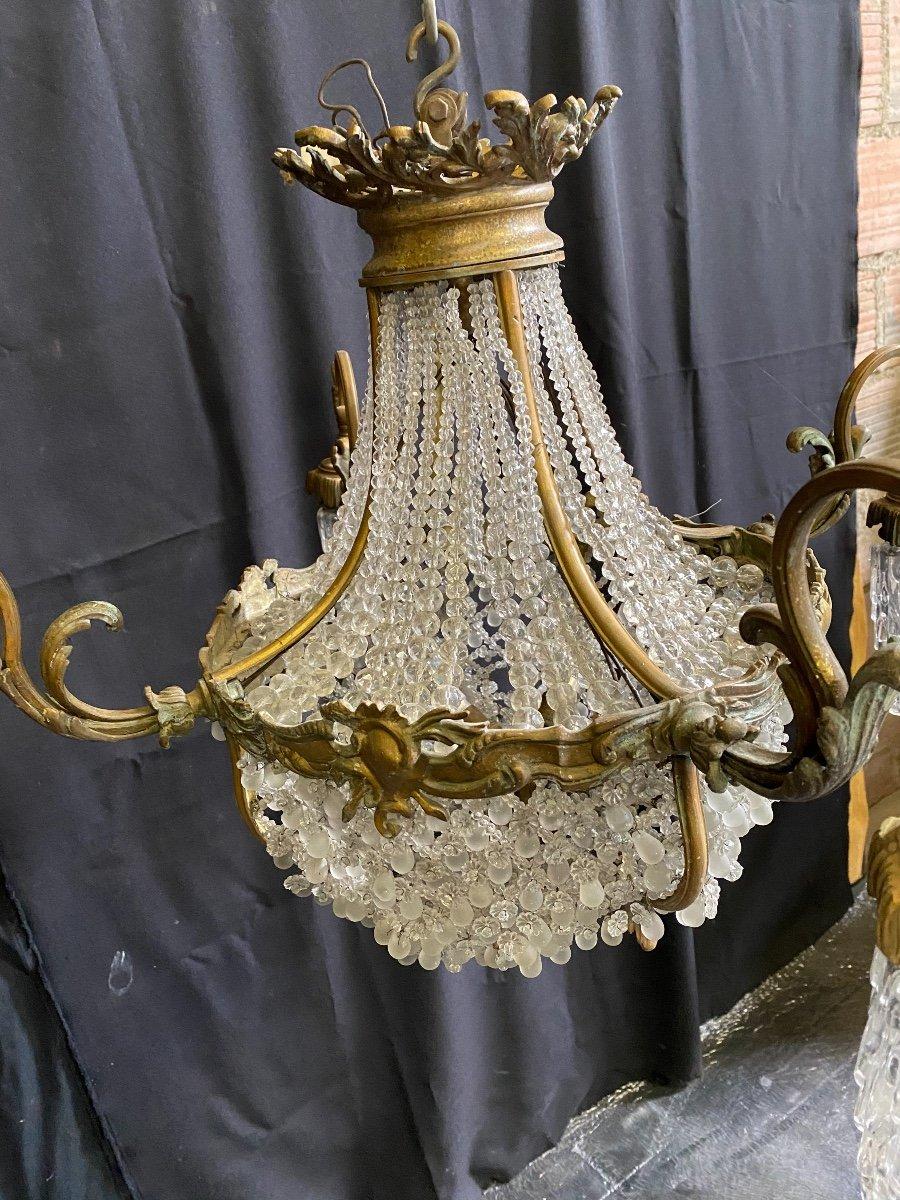 Lustre  style Louis XV -photo-2