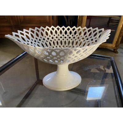 White Oval Cup Charles X Period