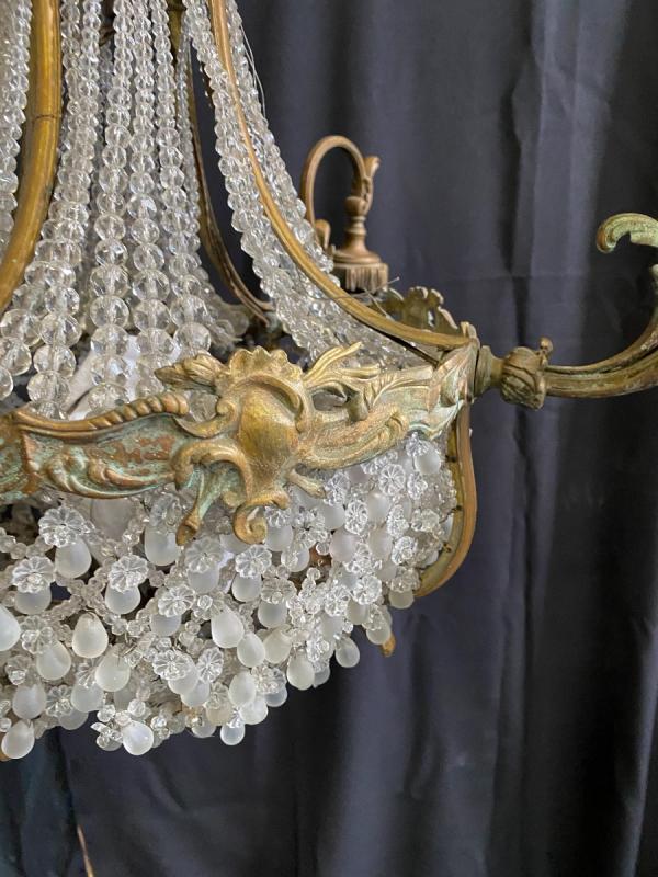 Lustre  style Louis XV -photo-3
