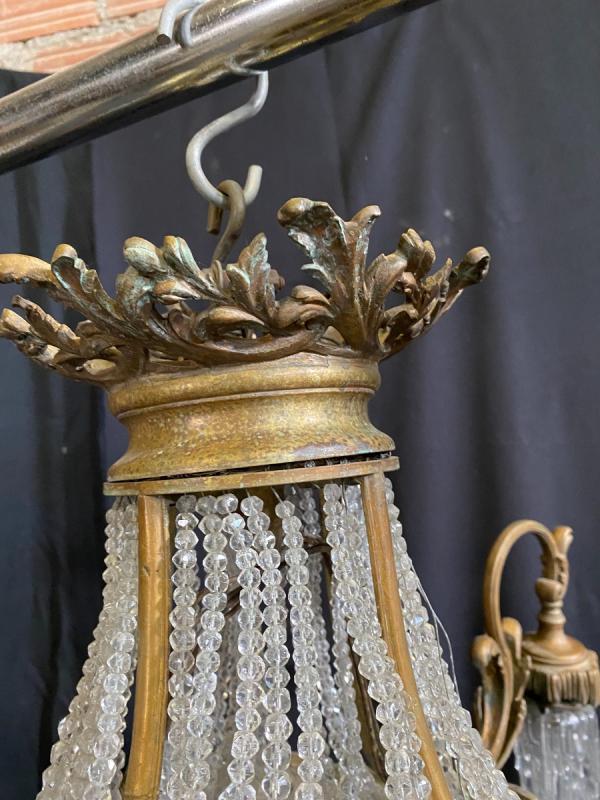 Lustre  style Louis XV -photo-4