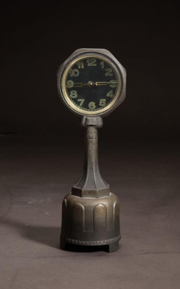 An Art Deco Very Rare And Very Decorative Mystery Clock.
