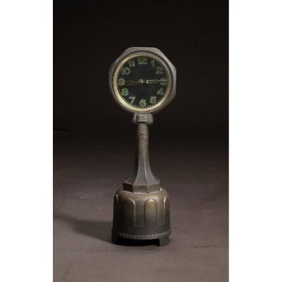 Une Horloge Mystérieuse Très Rare Et Très Décorative Art Déco