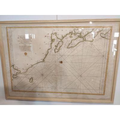 Carte Des Costes De Poitou d'Aunis Et De Saintonge, Neptune François, Bellin Nicolas