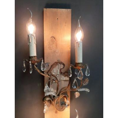 Italian Wall Lights With 2 Bright Points