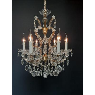Maria Theresia Chandelier With 6 Luminous Points