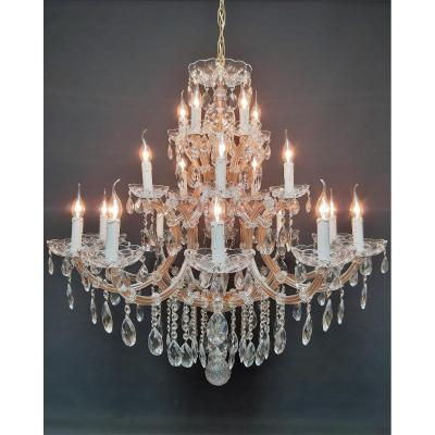 Maria-theresia Chandelier With 20 Luminous Points